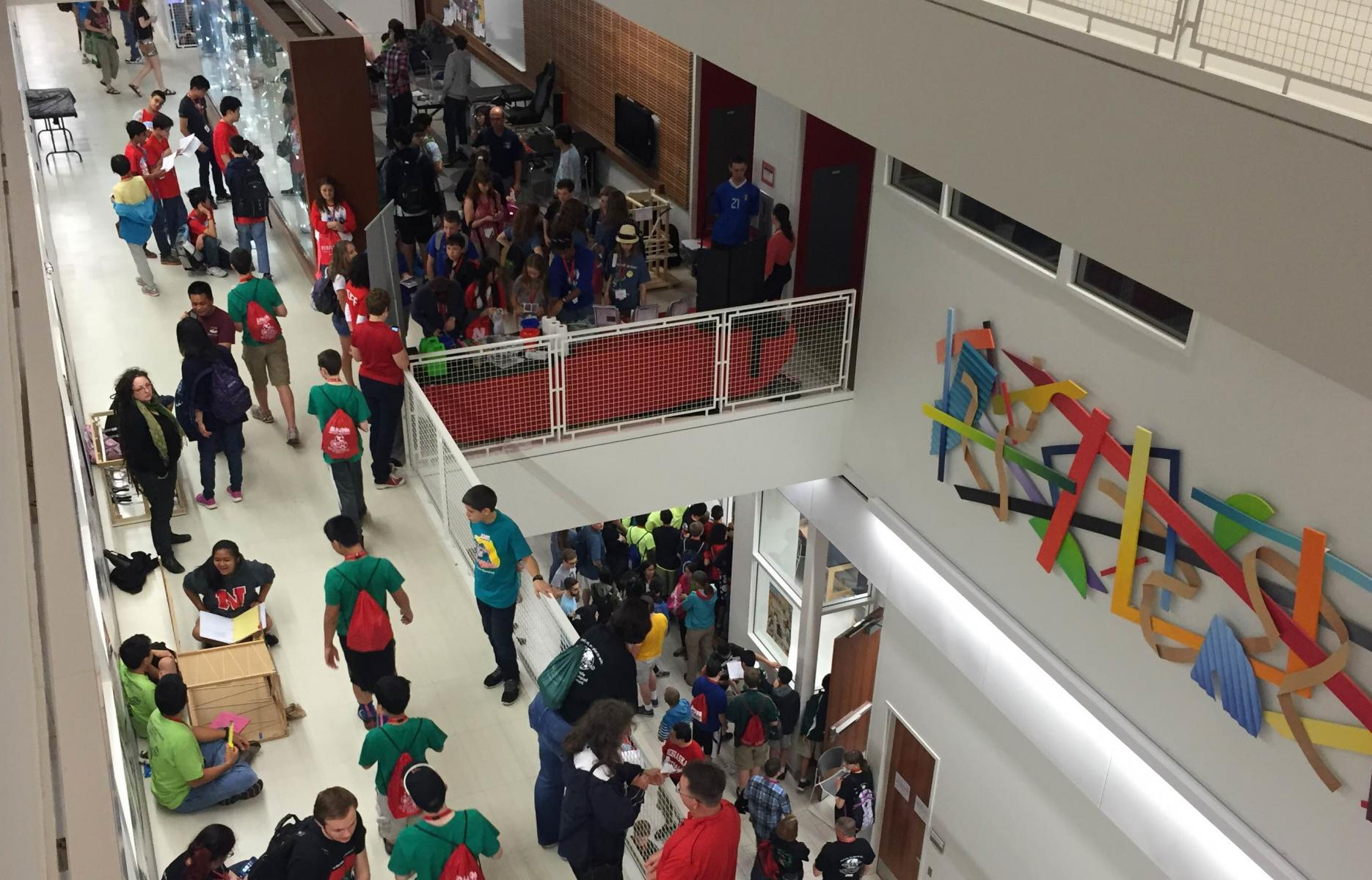 Jorgensen Hall hosts national Science Olympiad events