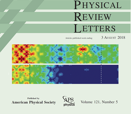 Tsymbal Group Research Featured on Cover of Physical Review Letters