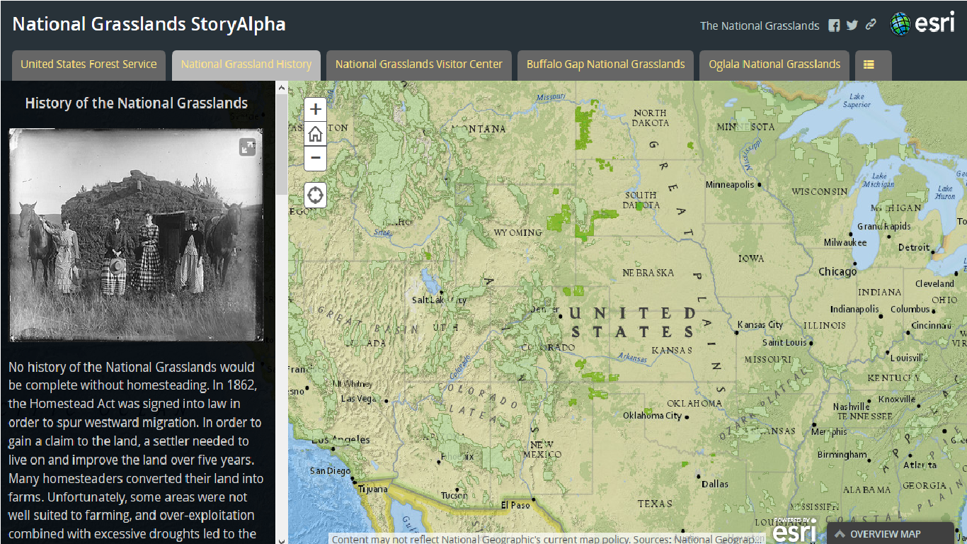 National Grasslands Story Map