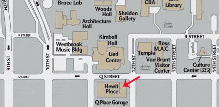 Unl City Campus Map Plan Your Visit | Center for Great Plains Studies | Nebraska Unl City Campus Map