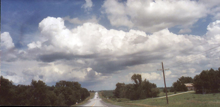 The Road Back from Wilbur, Nebraska by Howard Collins