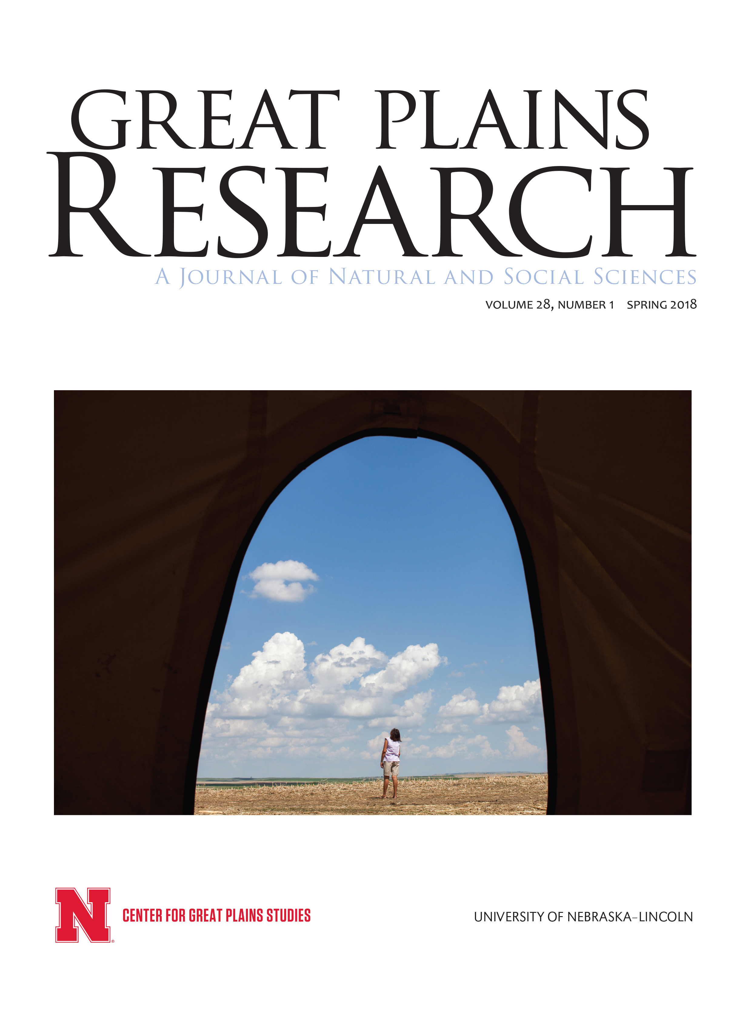 Current Issue of Great Plains Research