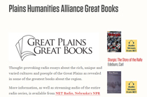 Plains Humanities Alliance Great Books