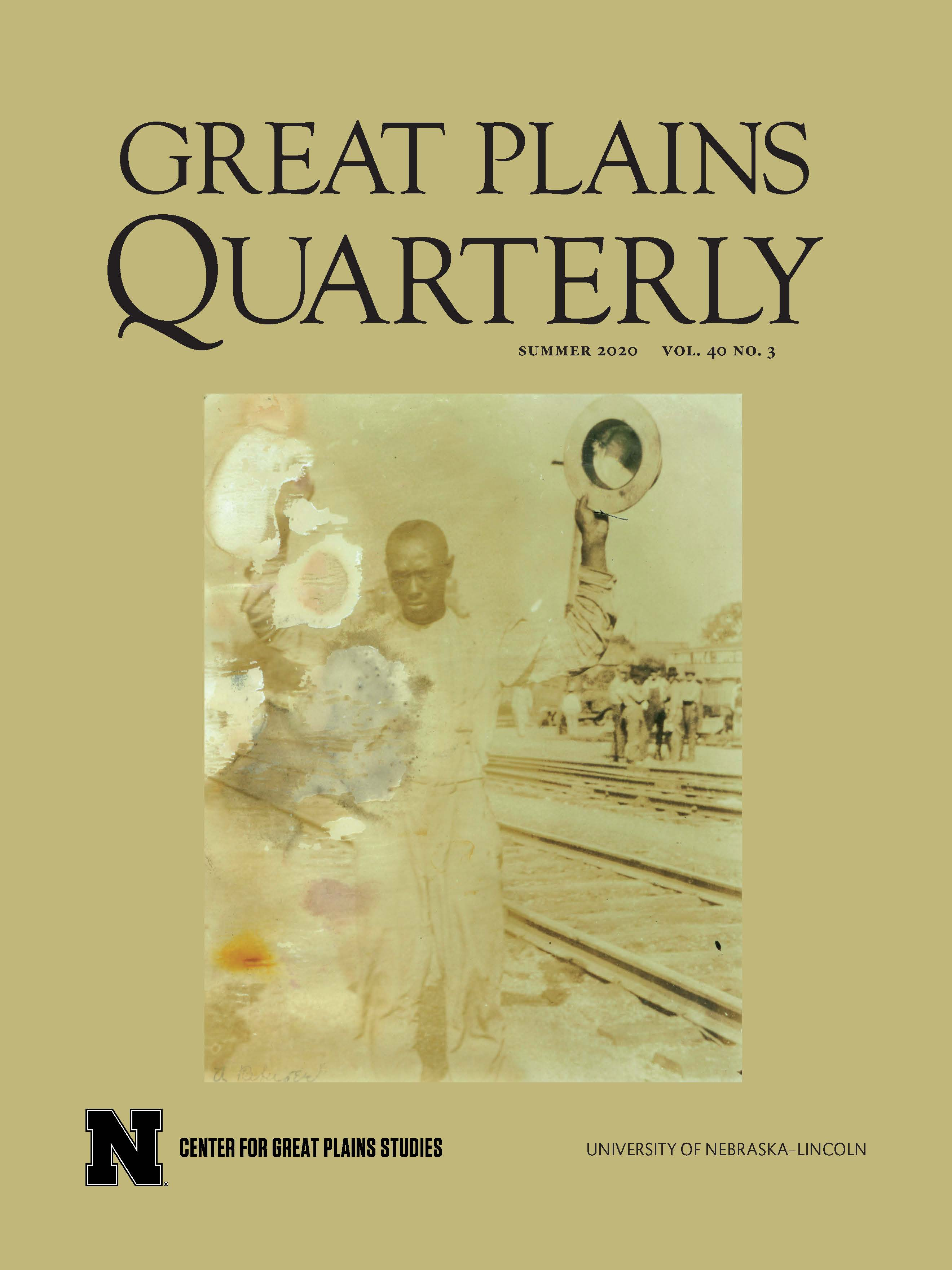 Current Issue - Great Plains Quarterly