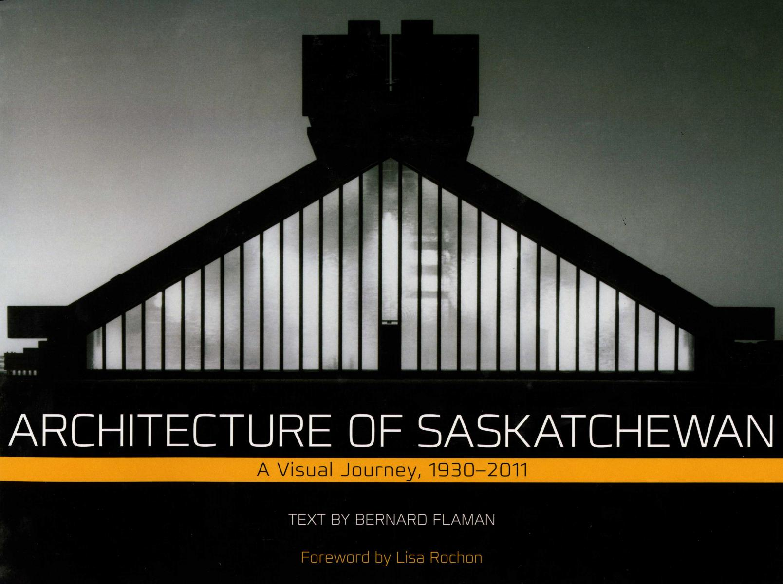 Architecture of Saskatchewan cover