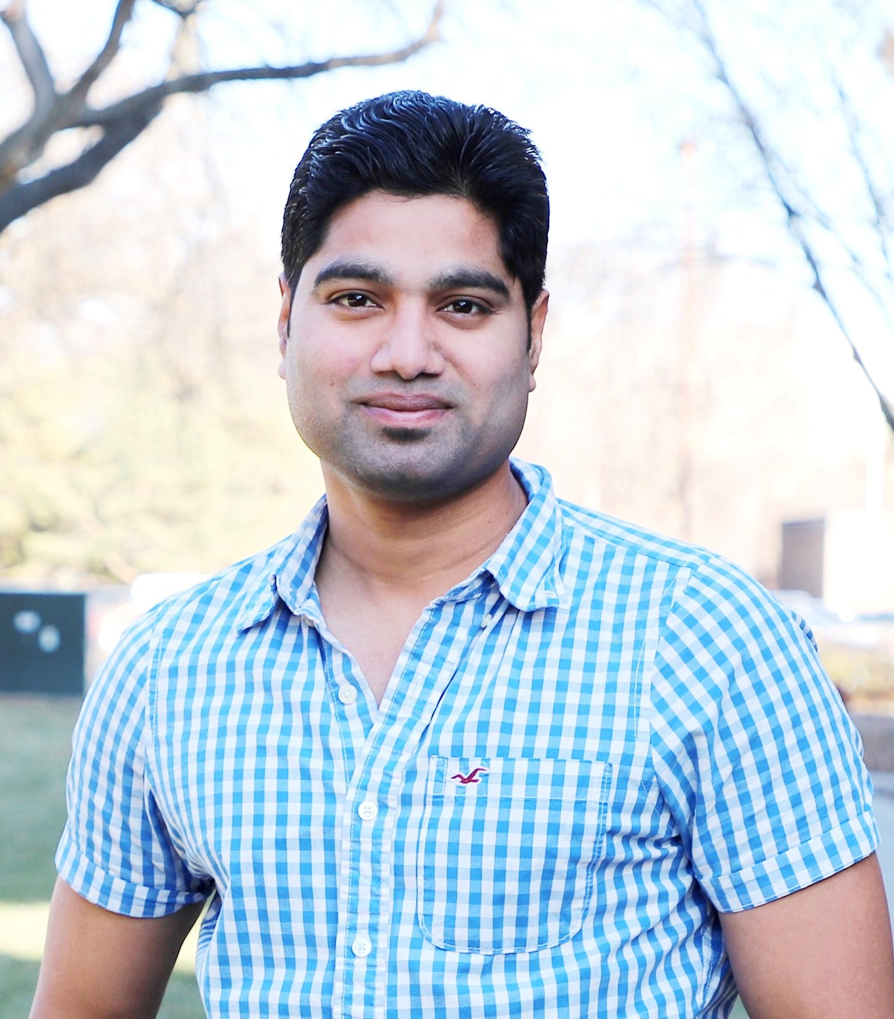 Portrait of Ravi Mural