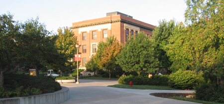 UNL's Canfield Administration Building