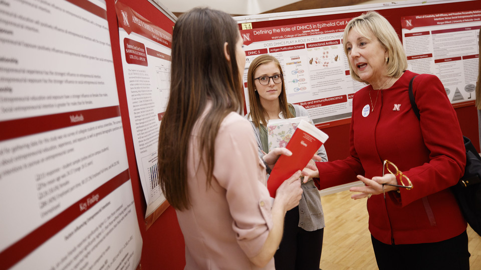 Dale Honored at Spring Research Fair