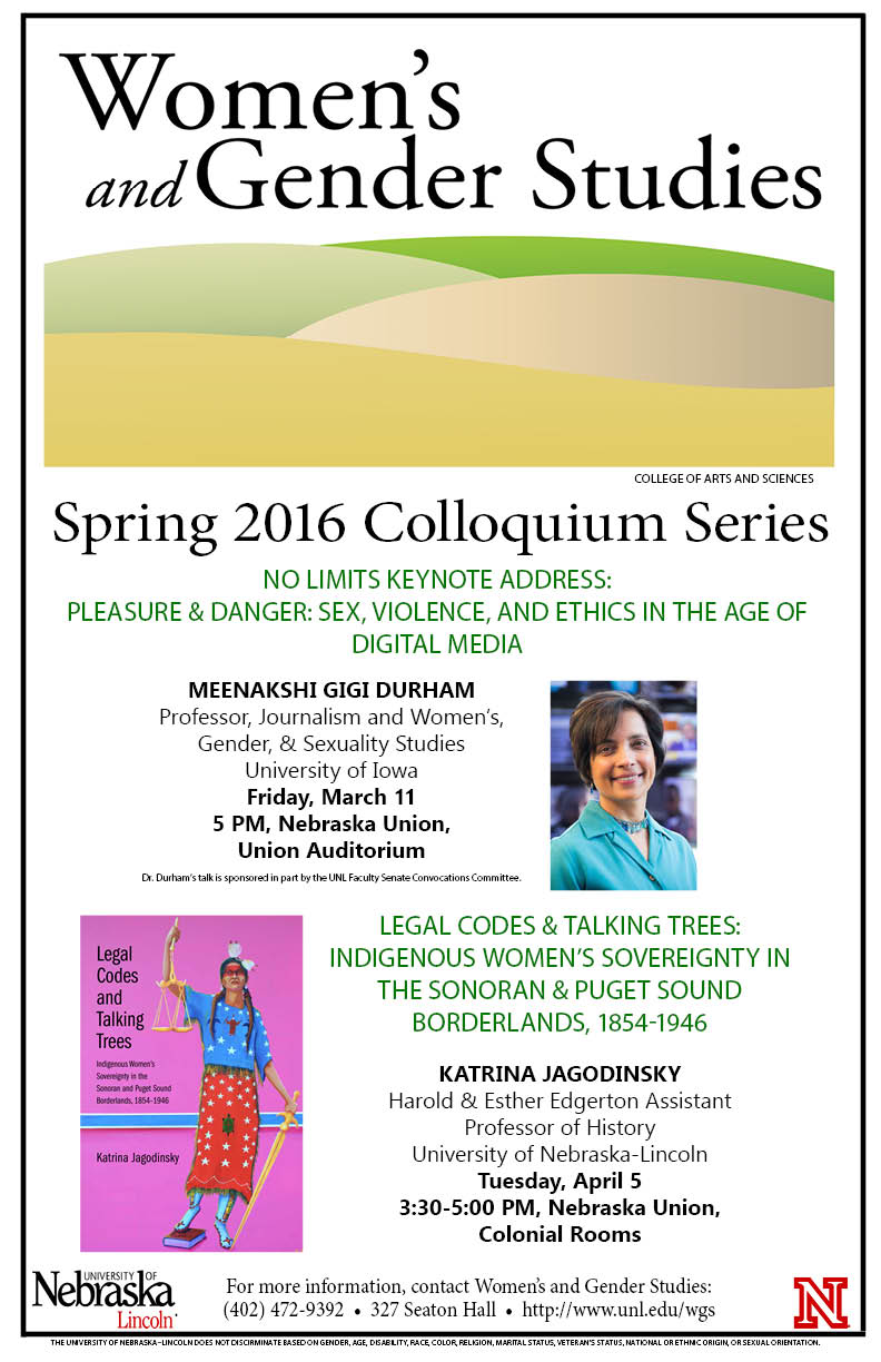 Durham to Kick off Women's & Gender Studies Spring Colloquium Series